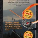 Tracker inbyte